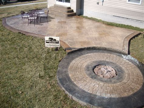 sted concrete gray black sted concrete patio with