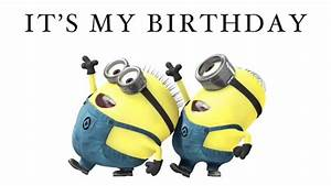 It's my Birthday song in Minion Verson - YouTube