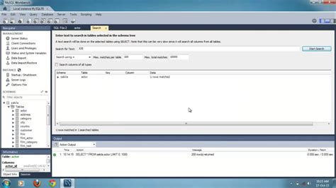 mysql show table contents how to view and search table data in mysql workbench 6 0