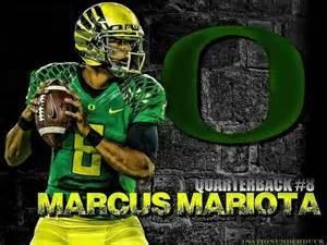 Marcus Mariota Oregon Ducks Football Wallpaper