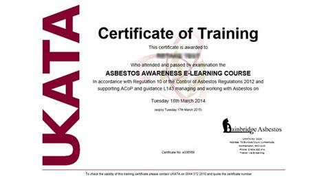 boost  career   ukata asbestos awareness