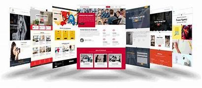 Web Website Templates Builder Tool Designed Template