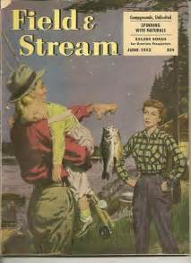 Vintage Field and Stream Magazine Cover