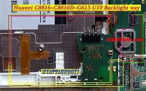 Huawei C8816d Cell Phone Screen Repair Light Problem