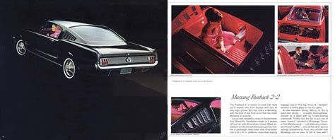 1965 Ford Mustang brochure