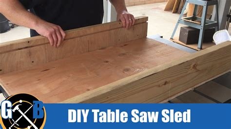 simple table  sled   afternoon build