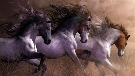 Space Abstract Wallpaper Hd Galloping Wild Horses Wallpaper Wallpaper Studio 10 Tens Of Thousands Hd And Ultrahd
