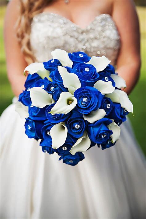 Royal Blue And Green Clearwater Wedding Blue Wedding
