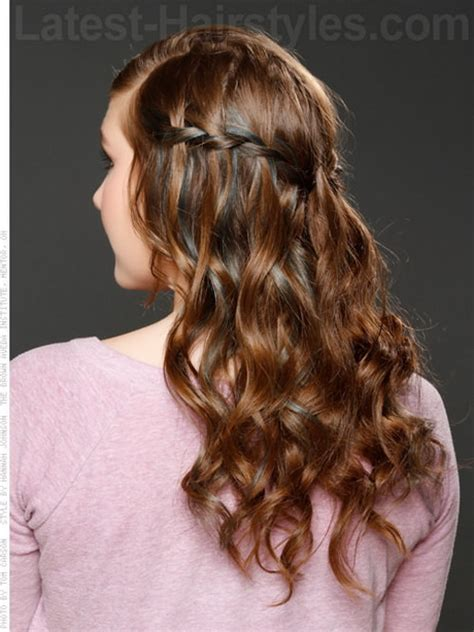Braided And Curled Hairstyles by Curly Braided Hairstyles