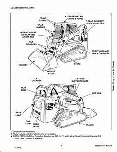 Bobcat T320 Compact Track Loader Service Repair Workshop Manual A7mp11001