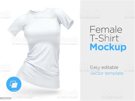 Many of these apparel mockups are free to use for commercial purpose (please check the actual license of the freebie before using as it may change). Realistic Template Blank White Woman Tshirt Cotton ...
