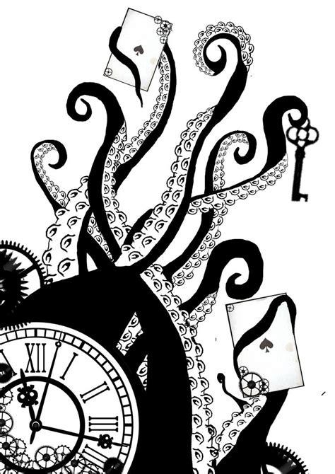 steampunk clock drawing google search steampunk