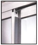 patio door draft stopper or center post weatherstrip custom ideal patio pet door small ideal pet products