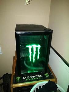 Monster Energy Mini Fridge G Style 2 Rare  For Sale In Ferndale  Wa
