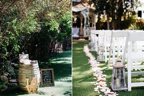 lovely wedding at oaks house garden estate in