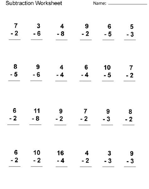1st grade math worksheet addition and subtraction worksheets for 1st grade math activity shelter