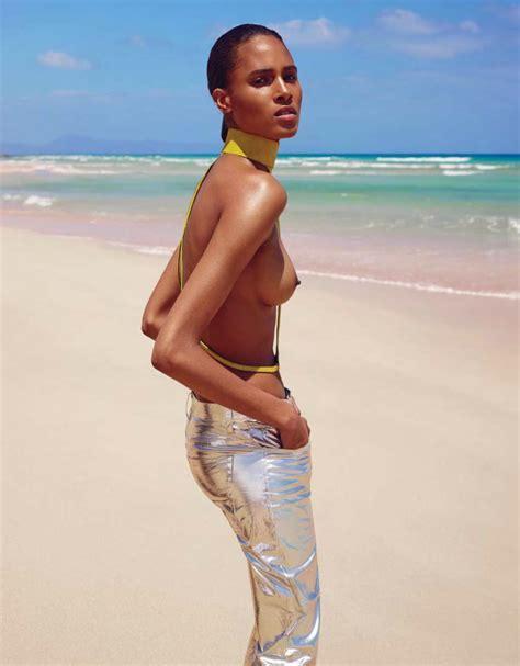 Cindy Bruna Pose Pour Le Magazine Vogue Ukraine De Juin