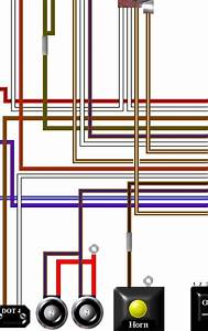 Triumph T120 Colour Electrical Wiring Diagram