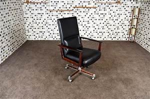 Fauteuil De Bureau Scandinave : fauteuil de bureau scandinave en palissandre de rio arne vodder vintage 1960 ~ Teatrodelosmanantiales.com Idées de Décoration