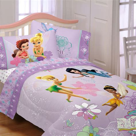 Tinkerbell Bedroom Set by Fly To Sleep With A Tinkerbell Bedding Bedroom Set