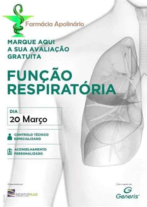 """Farmácia Apolinário promove rastreio da """"Função Pulmonar ..."""