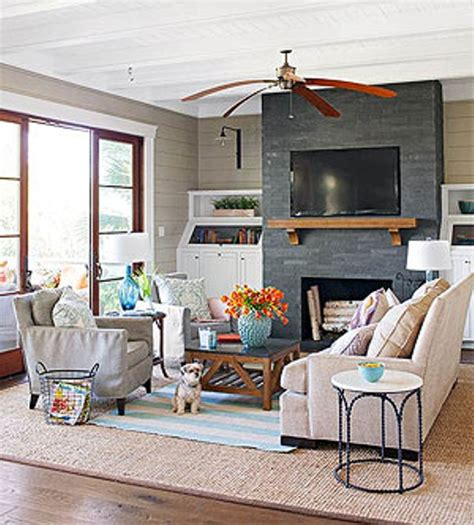 Decorating Ideas For Living Room With Fireplace by Tv Wall Above Brick Fireplace Design For Living Room