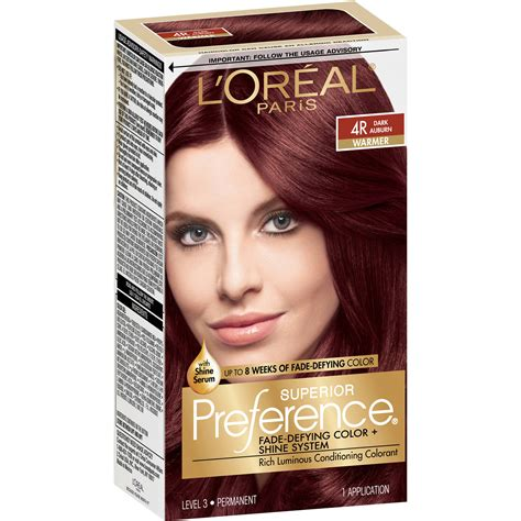 siege loreal loreal preference hair color chart imgkid com the
