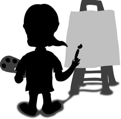 Painter clipart person painting, Painter person painting ...