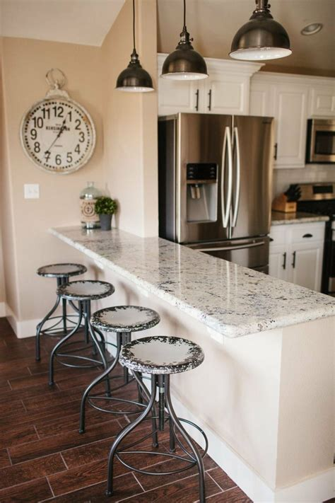 Dining Room With Bar by White Granite The Dining Room Breakfast Bar