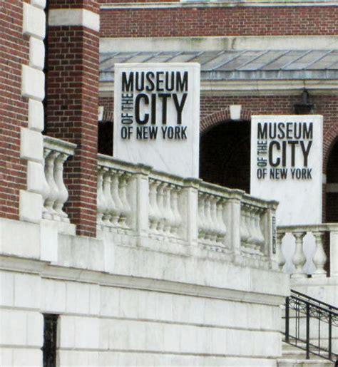 il museo della citt 224 di new york info e biglietti