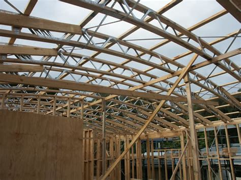 curved roof truss design curved roof trusses with posistrut mitek australia dandenong south vic 3175