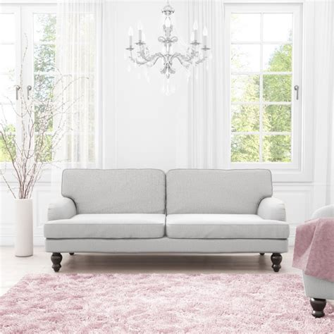 Light Grey Sofa by Amelia Light Grey Sofa Bed 3 Seater Sofa