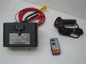 Control Box Pack Winch 12v Relay Solenoid Wireless Remote