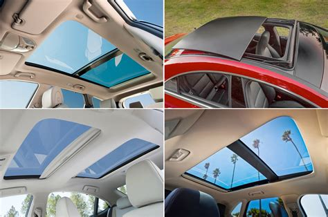 vehicles offering panoramic sunroofs