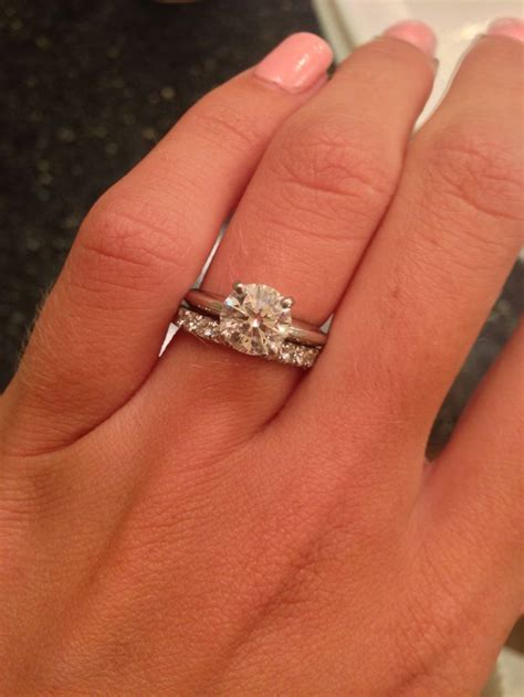 show me your solitaire rings with an eternity diamond