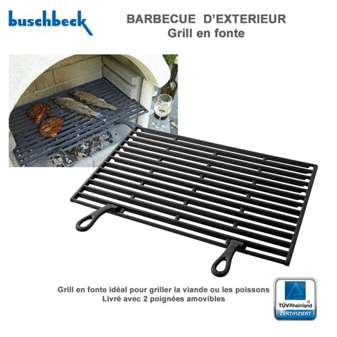 grille en fonte pour barbecue en 901228 buschbeck