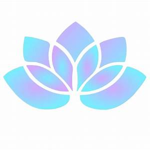 Purple Blue Lotus Clip Art at Clker.com - vector clip art ...