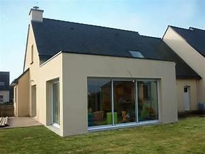 extension de maison dans le calvados 14 With extension maison toit plat