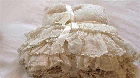target shabby chic white dust ruffle shabby chic dust ruffle awesome stone grey linen bedskirt with country ruffle hem linen bed