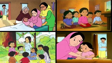 Meena Mithu Cartoon Song Bangla