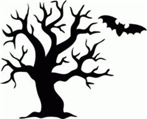 halloween tree silhouette clipart   cliparts