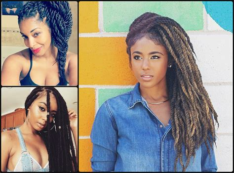 box braids hairstyles  hair colors  haircuts