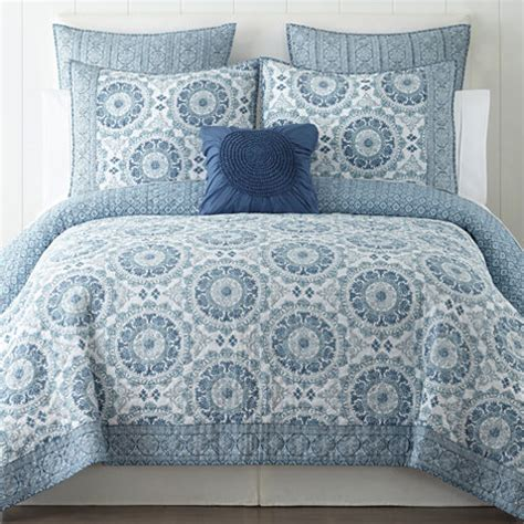 jcpenney bedding quilts home expressions medallion quilt jcpenney