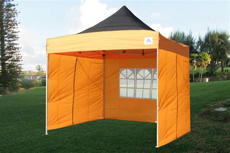 orange pop  tent canopy