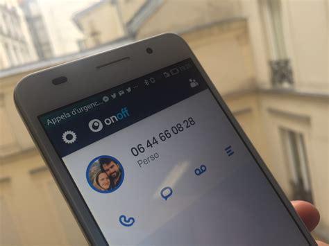 Onoff, Et Votre Numéro De Téléphone S'affranchit De Votre
