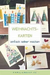 Basteln Mit Kindern Schnell Und Einfach : weihnachtskarten basteln basteln weihnachtskarten ~ A.2002-acura-tl-radio.info Haus und Dekorationen