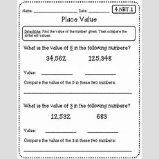 Common Core Math Worksheets (for All Standards)  Create Teach Share