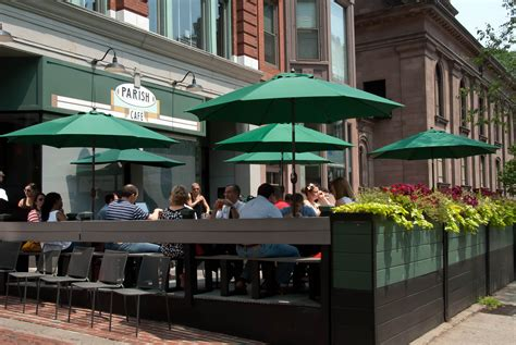 the patio restaurant patio dining in the bean make it a healthy 2014