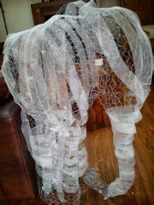 paper mache elephant  super easy diy ideas guide patterns