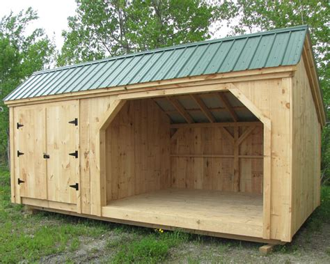 cord wood shed  storage building